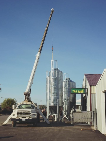 T Amp S Sales Scafco Hopper Bottom Bins Silos