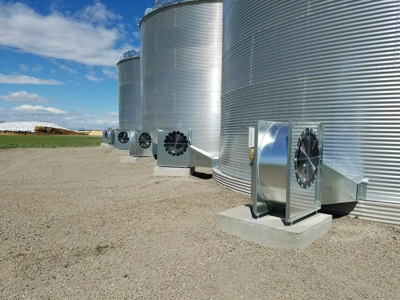 T Amp S Sales Grain Bin Drying Systems Air Dry